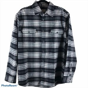 NWT Jachs Black/Gray Flannel Size Large